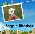 Bargain Blessings Button
